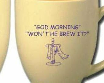 GOD MORNING MUG