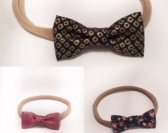 Mini bows headbands