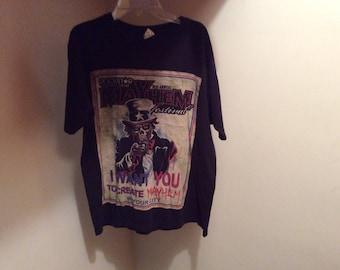 Mayhem Fest 2012 Tour T-Shirt Size  MEDIUM