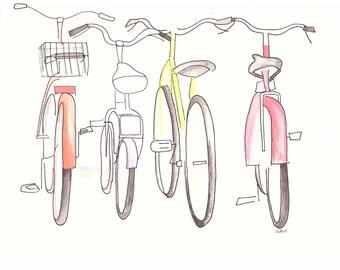 Bikes Colored