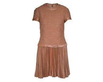Shimmer Drop Waist Mini Dress - Women's Size M
