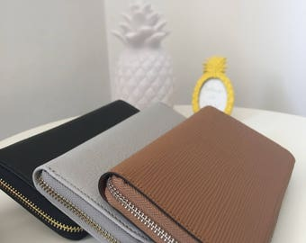 LEATHER WALLET-2 colours
