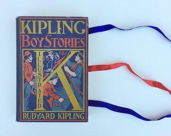 Antique Children's Book 1800's Stories