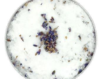 FLORAL - Lavender effervescent bath salt and vanilla