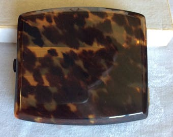 Antique Cigarette Case Tortoiseshell