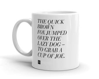 The Quick Brown Fox Mug