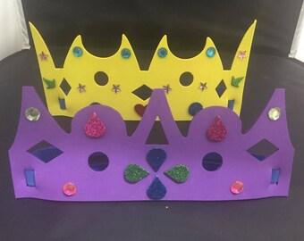 Foam Party Crowns