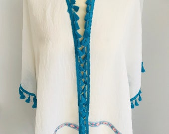 Tullum Kimono - Turq