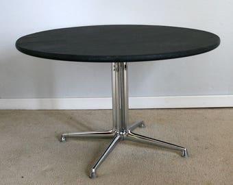 vintage mid century Eames Herman Miller La Fonda round coffee table