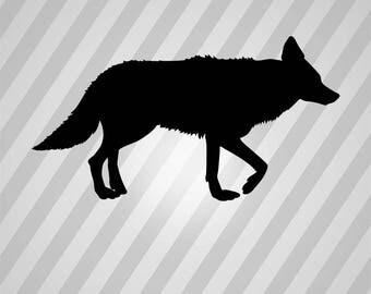Coyote Svg Etsy