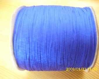 5 meters of nylon thread for 0.8 mm dark blue shamballa