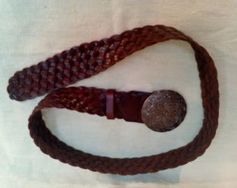 STREET ONE Leather  Braided Belt