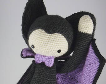 VLAD the vampire bat after a pattern by Lalylala