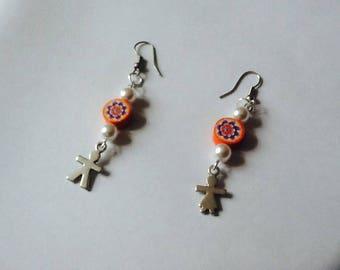 Boy/girl for pierced earrings