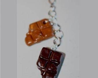 Pendant 2 tablets chewed, chocolate caramel
