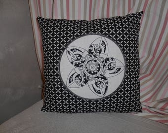 embroidered cushion gear