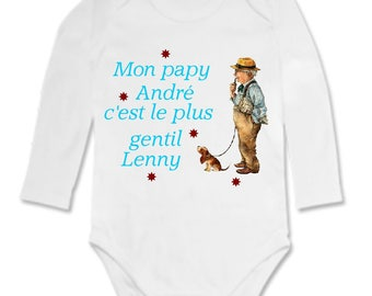 My Grandpa onesie... it is personalized with name