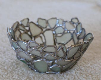 Small Bowl Made From Sea Glass