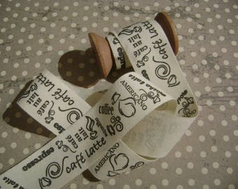 Patterned cotton Ribbon