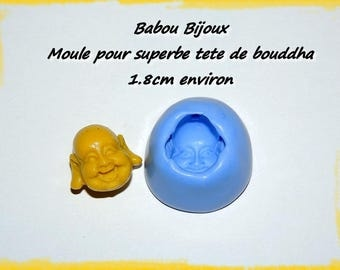 Beautiful 1.8 Buddha head mold cm