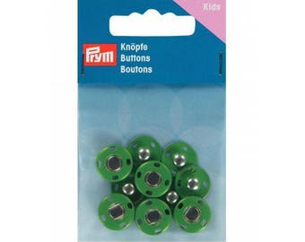 5 snaps green 14 mm Prym sewing