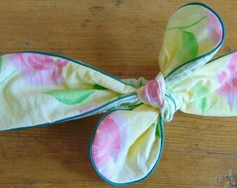 Headband for baby, girl, reversible