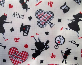 """BEIGE PVC coated fabric * waterproof * pattern """"ALICE"""""""