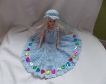 a pretty dress for barbie