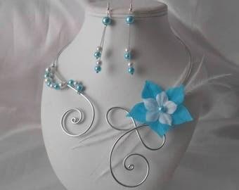 Wedding Austria 2 piece necklace & earrings set