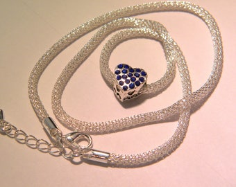 inside - white silver steel - D36 4 hollow snake chain necklace