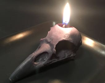 Raven Skull Wax tealights / Melts