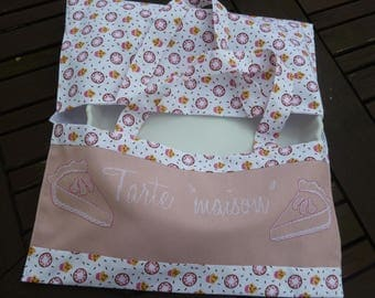 Pie bag embroidered