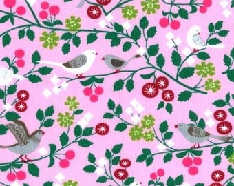 coated fabric 70 x 35 cm collection Paritys birds