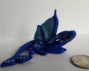 Monsoon polymer clay dragon