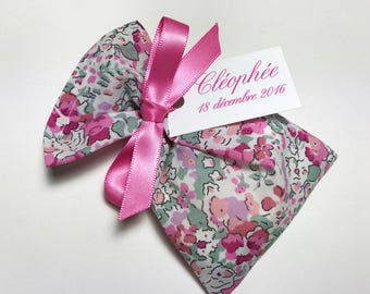 10 sachets customized Claire Aude Liberty rose