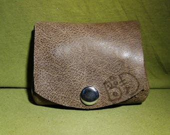 leather coin wallet unique