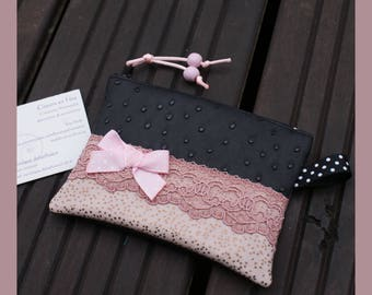 "wallet ""pretty in pink"""