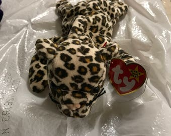 Freckles Beanie Baby. 1st Generation. GREAT CONDITION.