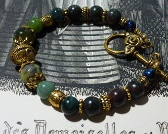 Indian - Mashan Jade Agate bracelet