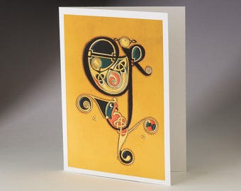 ER - Book of Kells Art Card