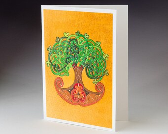 Tree of Life Art Card