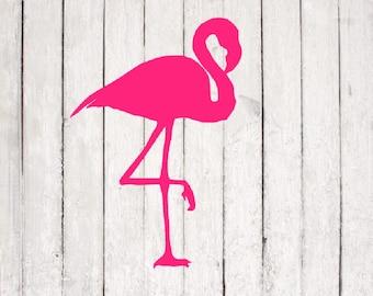 flamingo SVG| flamingo cut file | summer svg | Silhouette | flamingo svg file | monogram flamingo | flamingo png
