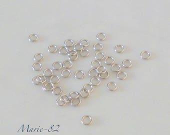 3 X 0.60 mm stainless steel rings