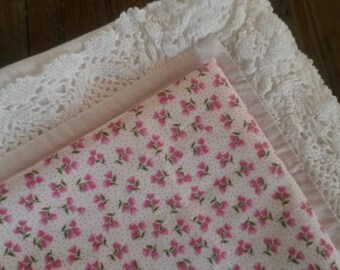 Liberty floral fabric / pattern pink flowers