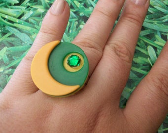 ring buttons Green