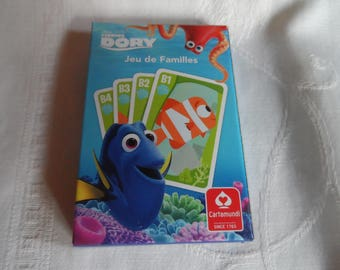 "Game 7 families Adventures ""nemo"" 32 cards kids game"