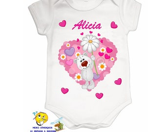 Onesie personalized with name ref 02