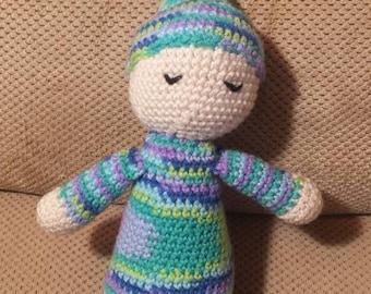 Crochet Sleepy Doll
