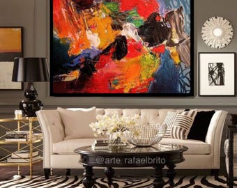"""Amazing Abstract painting 40""""x60"""""""