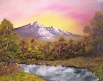 Oil on Canvas- Jungle River